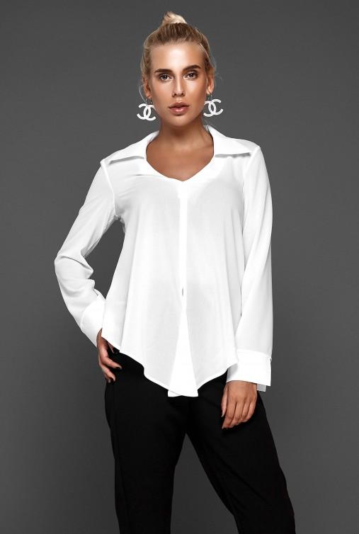 Блуза Октавия белый