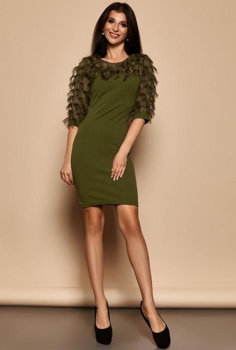 Платье Рошель хаки