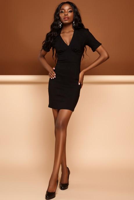Платье Стейси черный