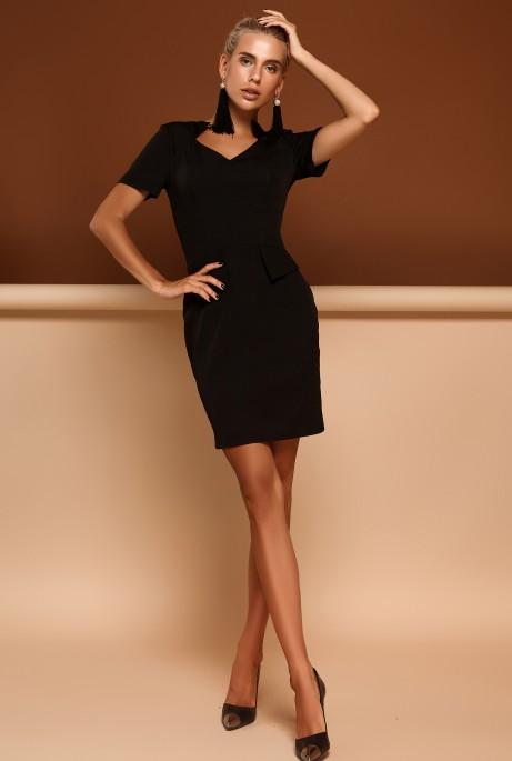 Платье Кендал черный