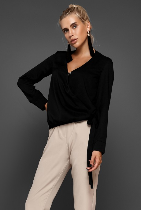 Блуза Изабель черный