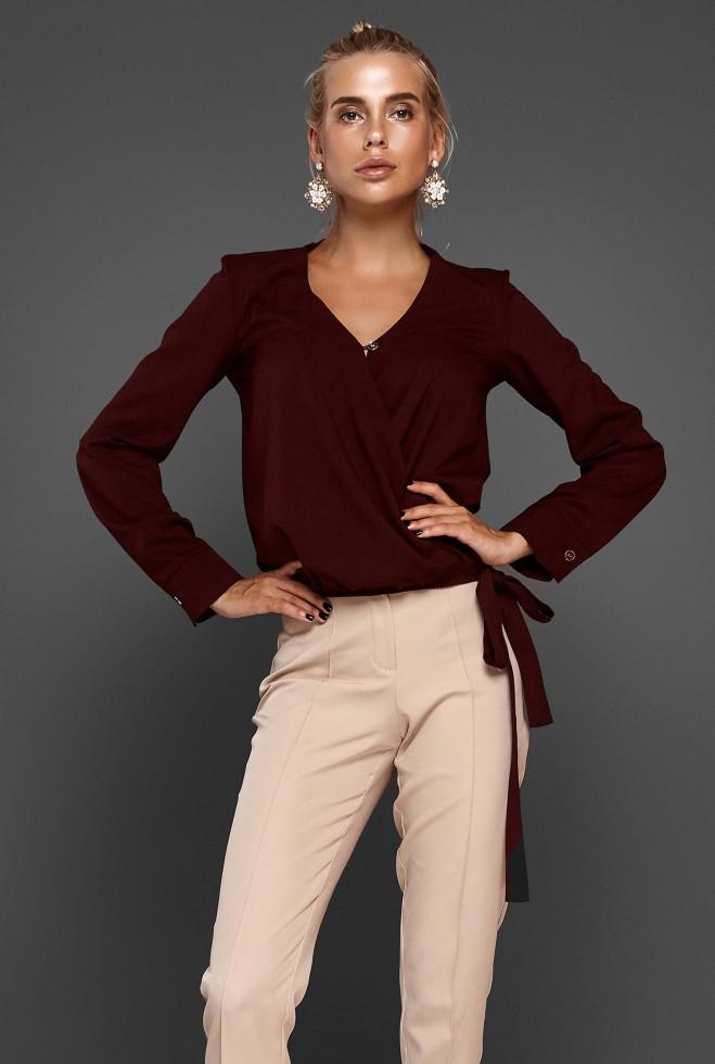 Блуза Изабель марсала
