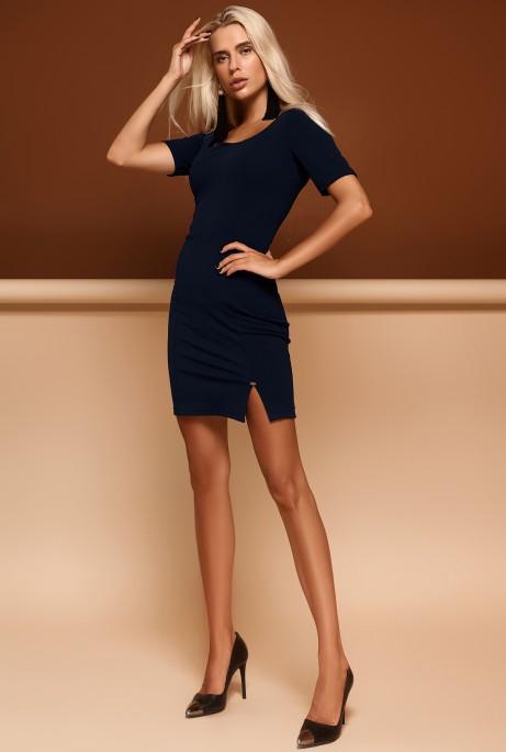 Платье Лорна тёмно-синий