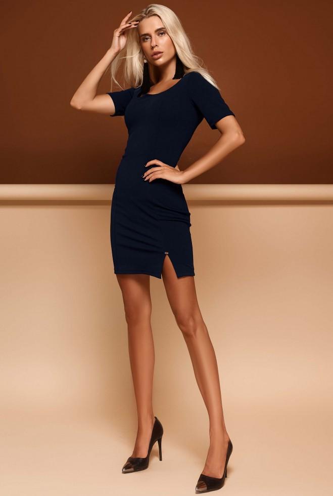 Платье Лорна тёмно-синий Жадон