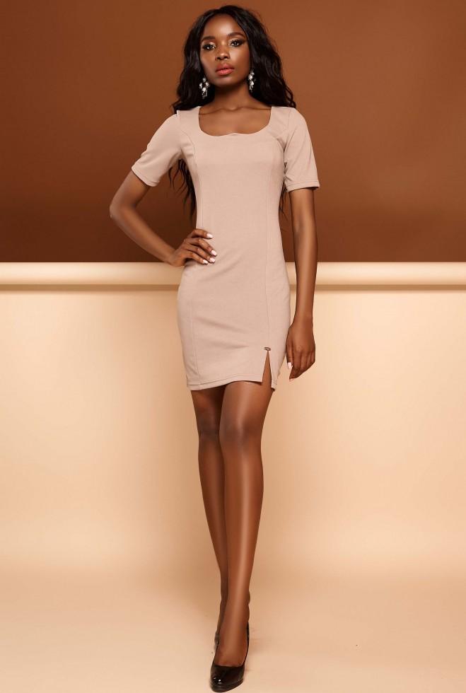 Платье Лорна бежевый