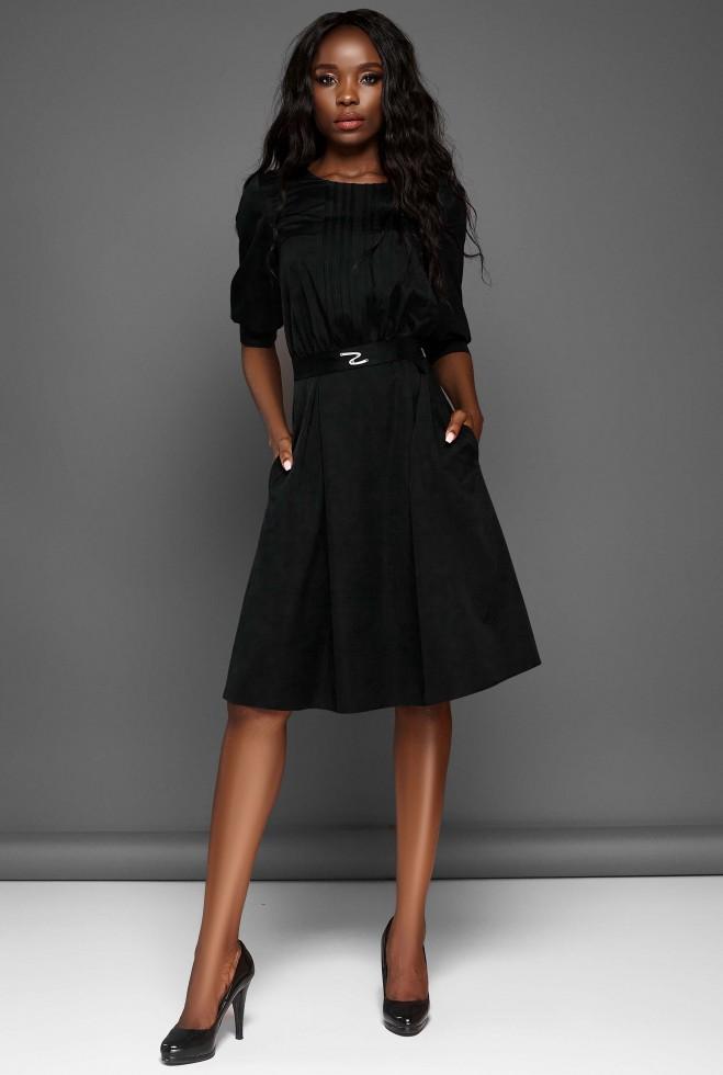 Платье Бетти черный Жадон