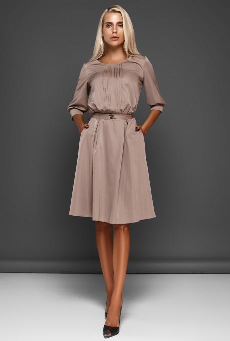 Платье Бетти бежевый