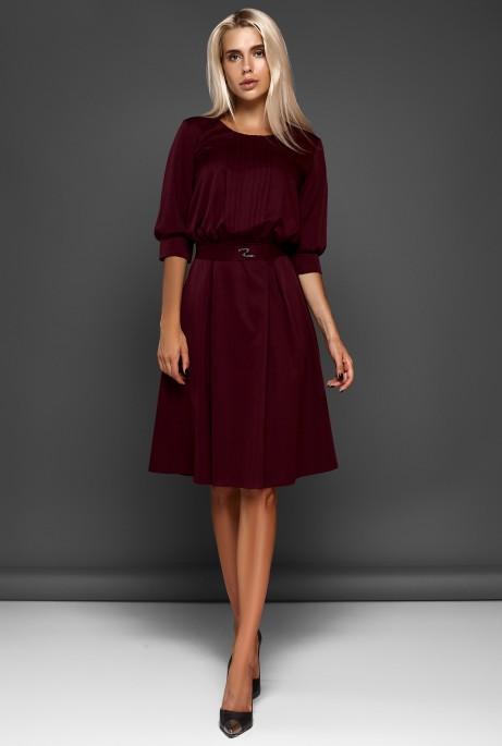 Платье Бетти марсала