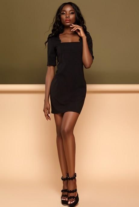 Платье Мия черный