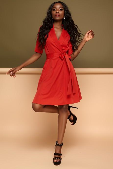 Платье Джоанна красный