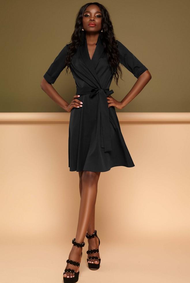 Платье Джоанна черный Жадон