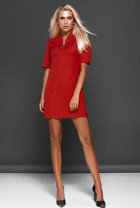 Платье Элиза красный
