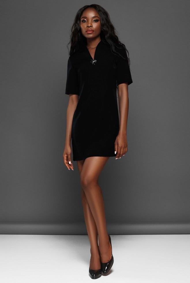 Платье Элиза черный
