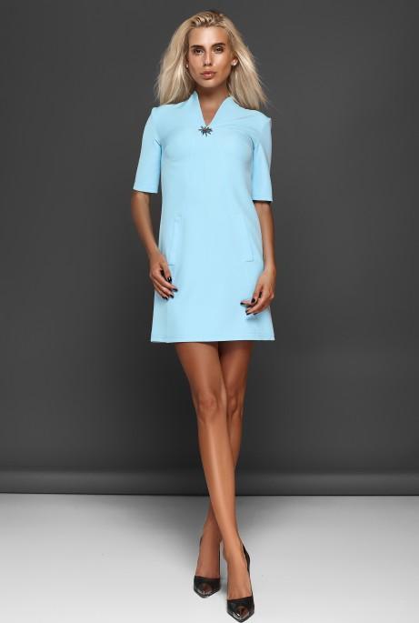 Платье Элиза голубой