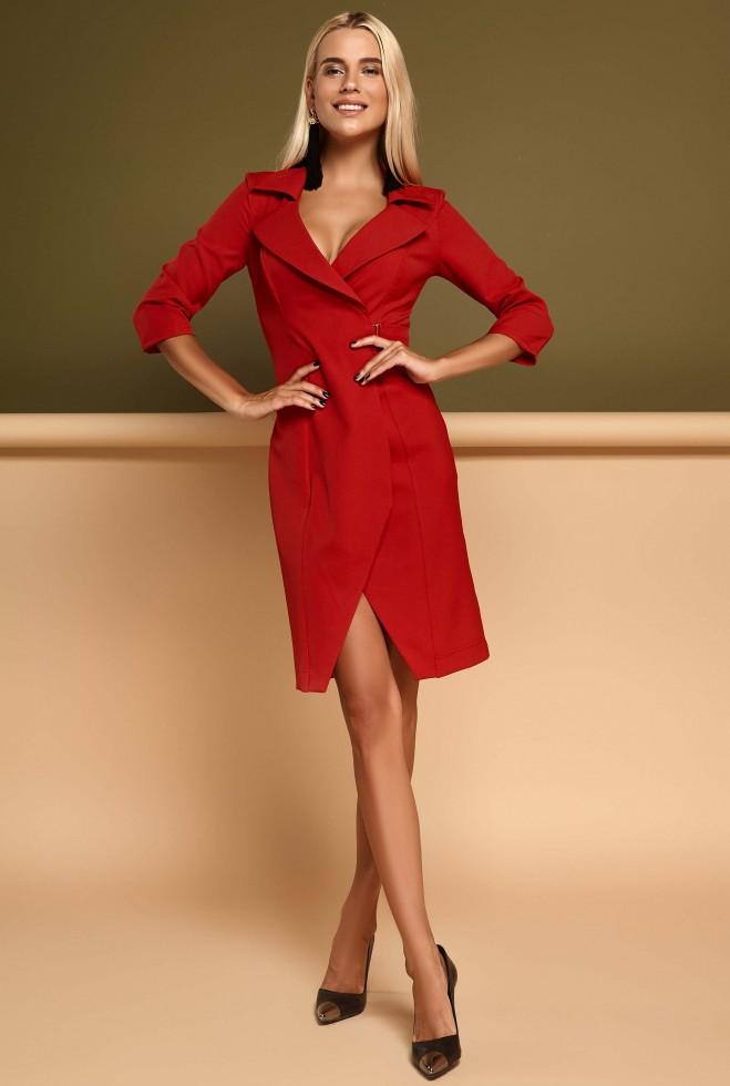Платье Эсми красный
