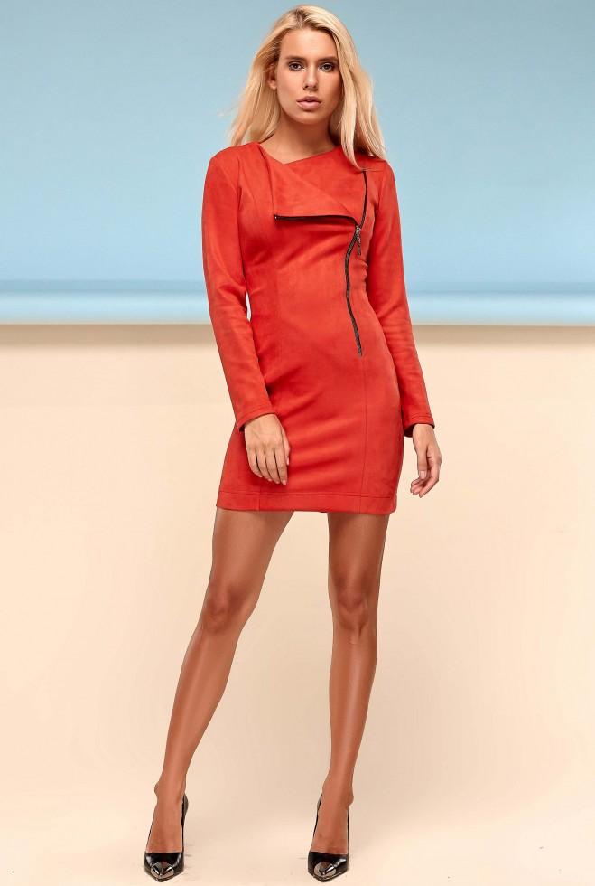 Платье Гайа красный