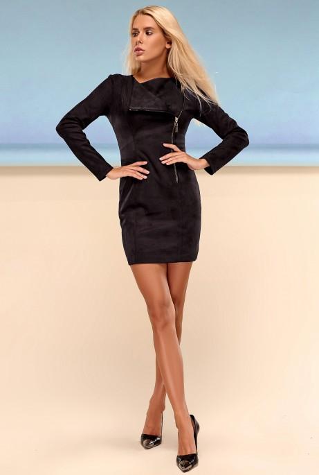Платье Гайа черный
