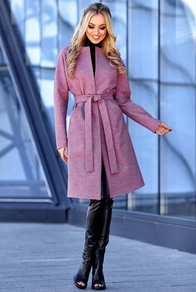 Облегченное пальто Джоун лиловый