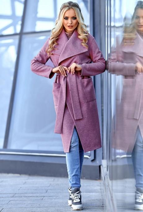 Облегченное пальто Мейли лиловый