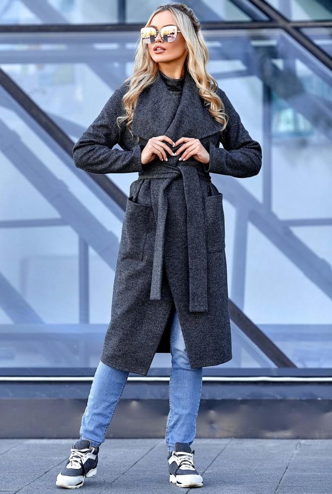 Облегченное пальто Мейли Графит