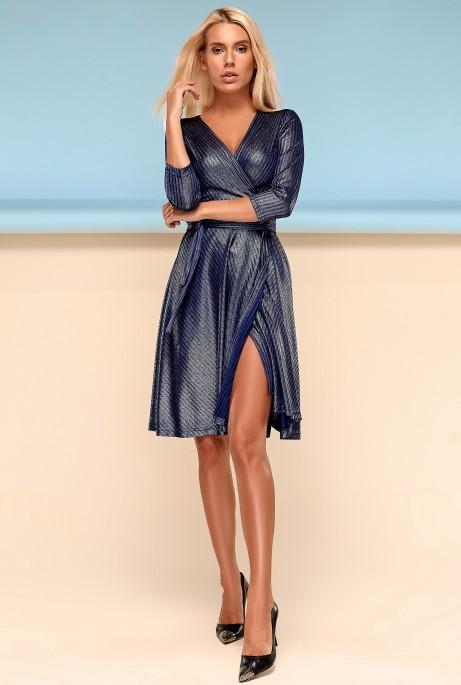 Платье Гелена тёмно-синий