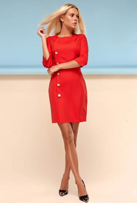 Платье Джемма красный