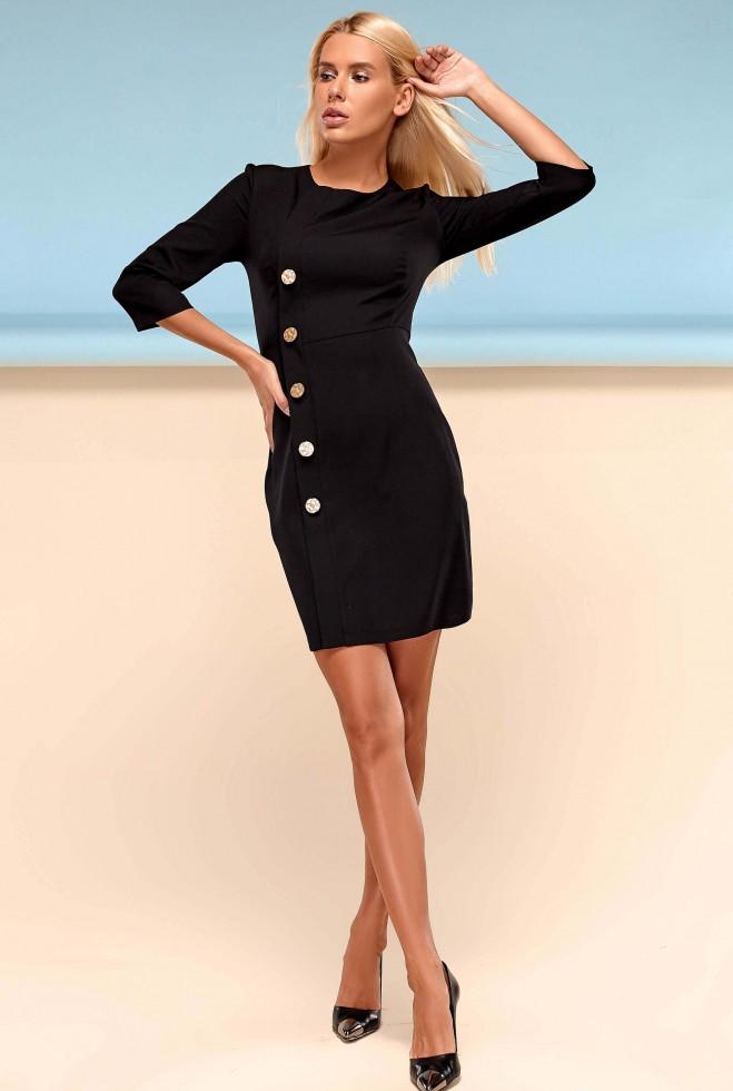 Платье Джемма черный