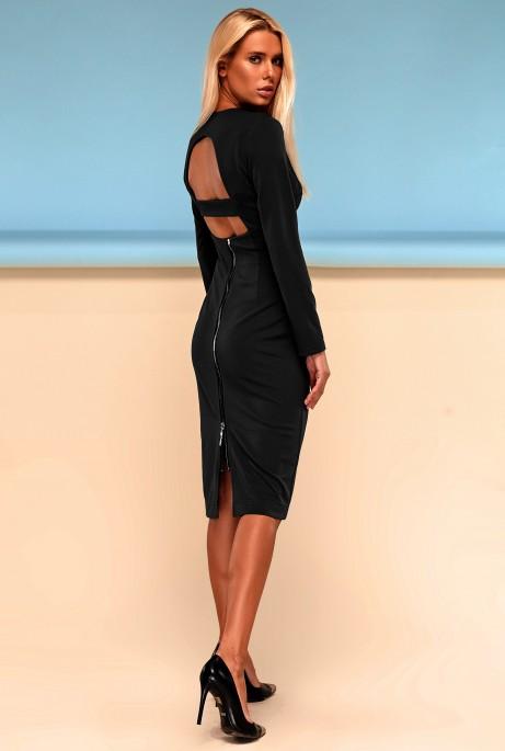 Платье Заира черный