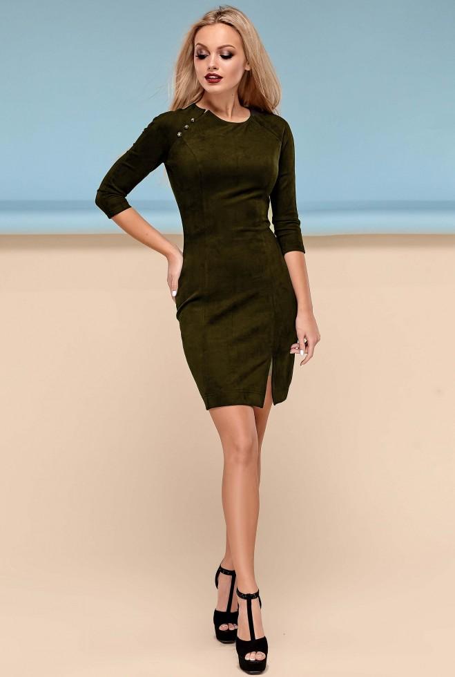 Платье Медисон хаки