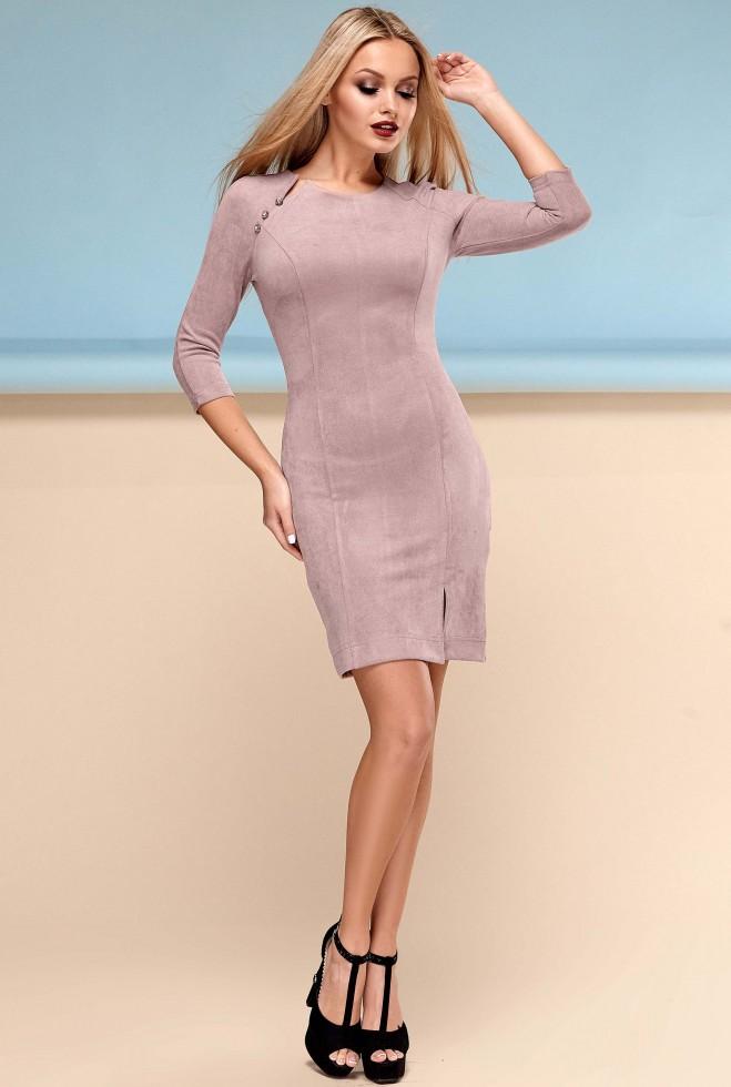 Платье Медисон бежевый
