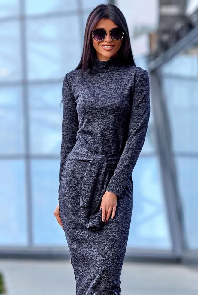 Платье Линда тёмно-синий