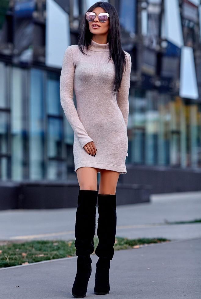 Платье Айлин бежевый
