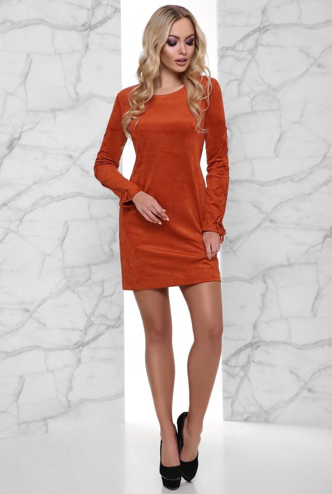 Платье Дениз кирпичный