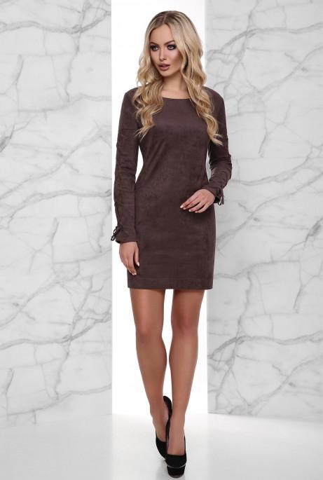 Платье Дениз Шоколад