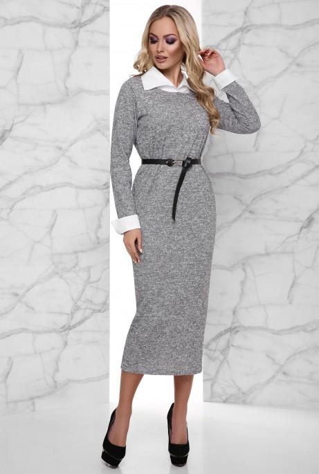 Платье Ханна серый