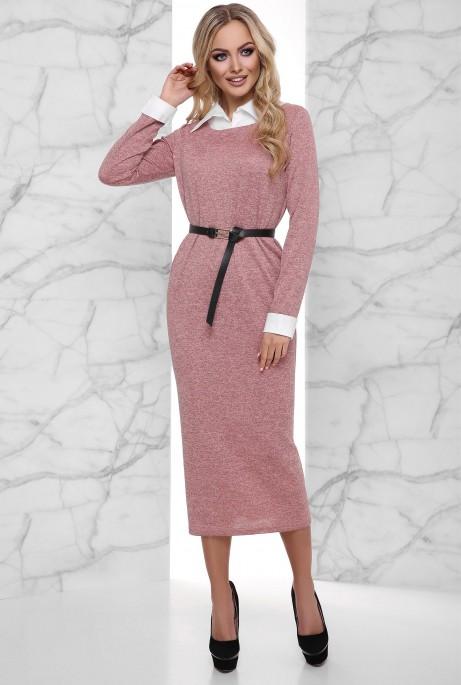 Платье Ханна розовый