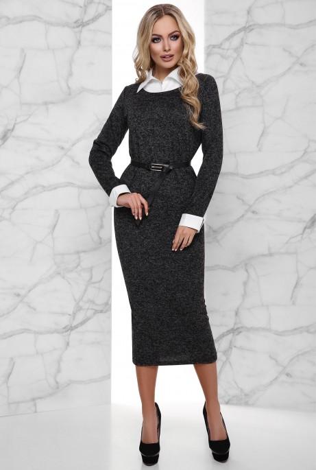 Платье Ханна черный