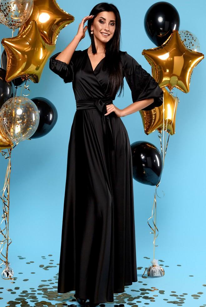 Платье Luna черный