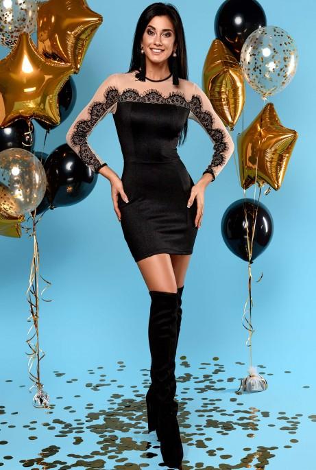 Платье Вивиан черный