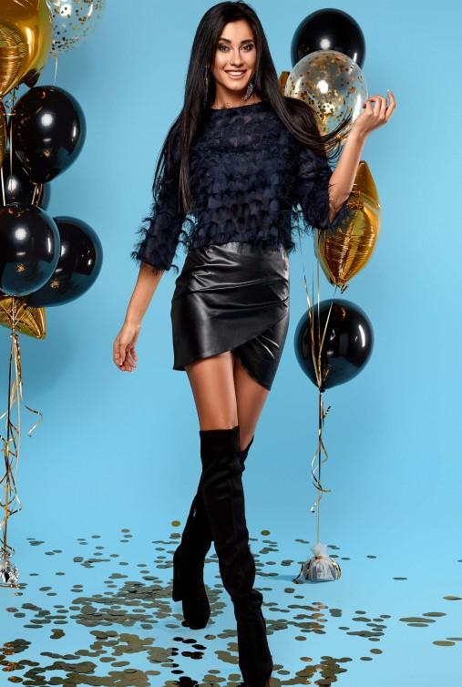 Блуза Fabi тёмно-синий