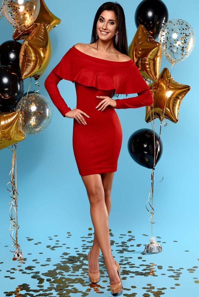 Платье Наиль красный