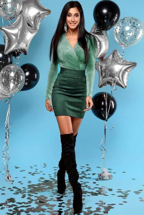 Платье Стелла хаки