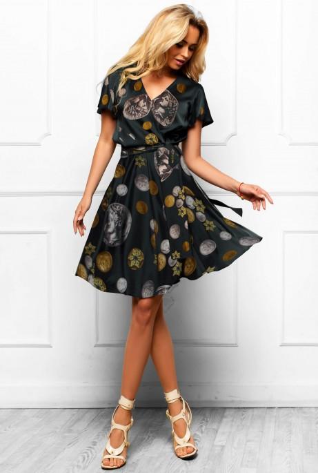 Платье Франческа черный