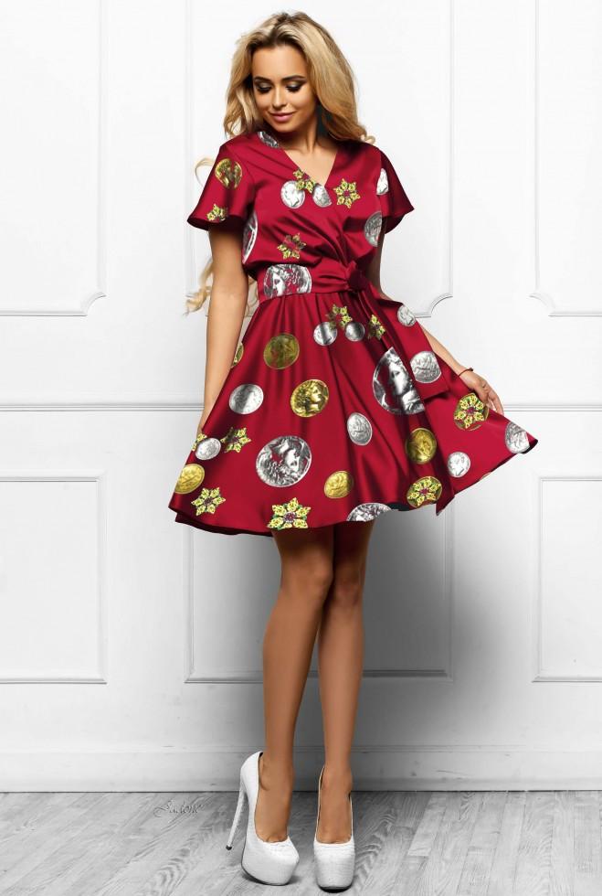 Платье Франческа красный
