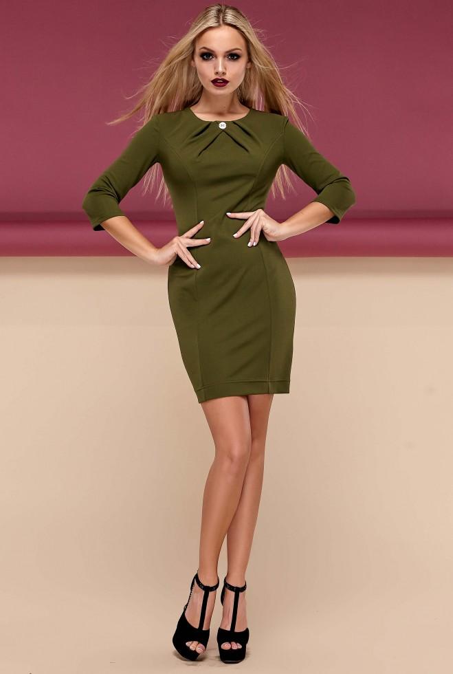 Платье Шейла хаки Жадон