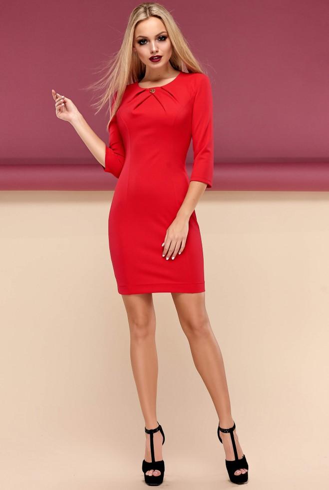 Платье Шейла красный
