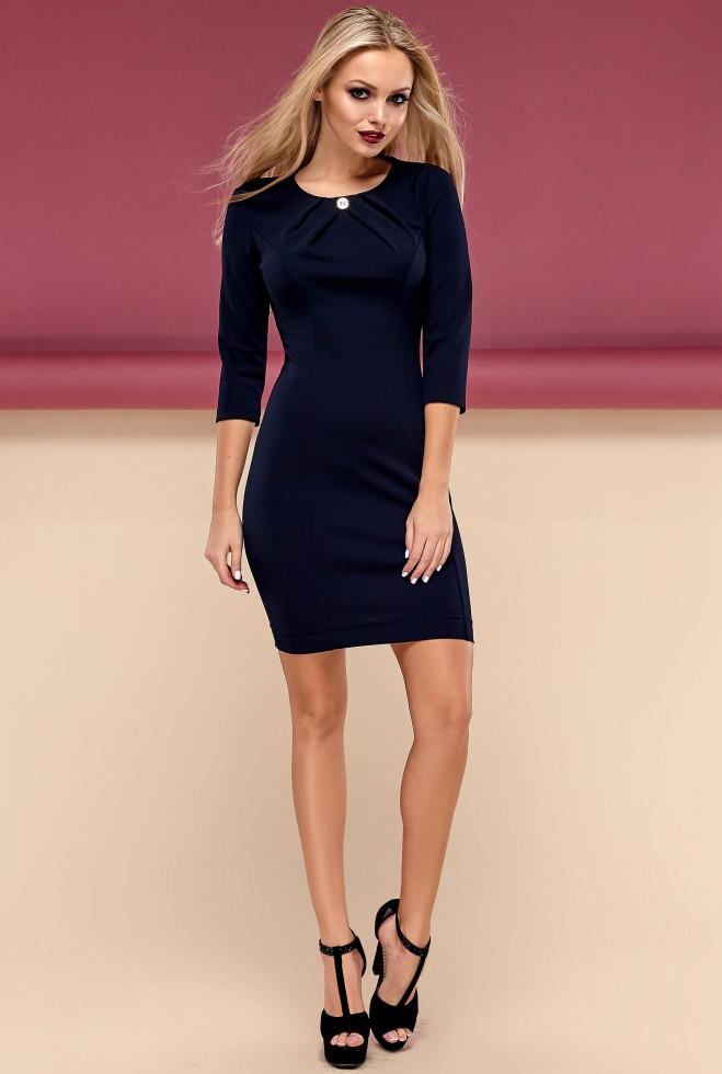 Платье Шейла тёмно-синий