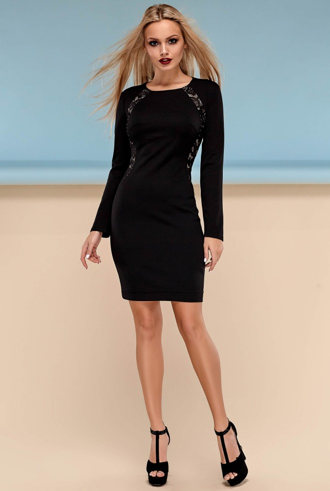 Платье Блэр черный