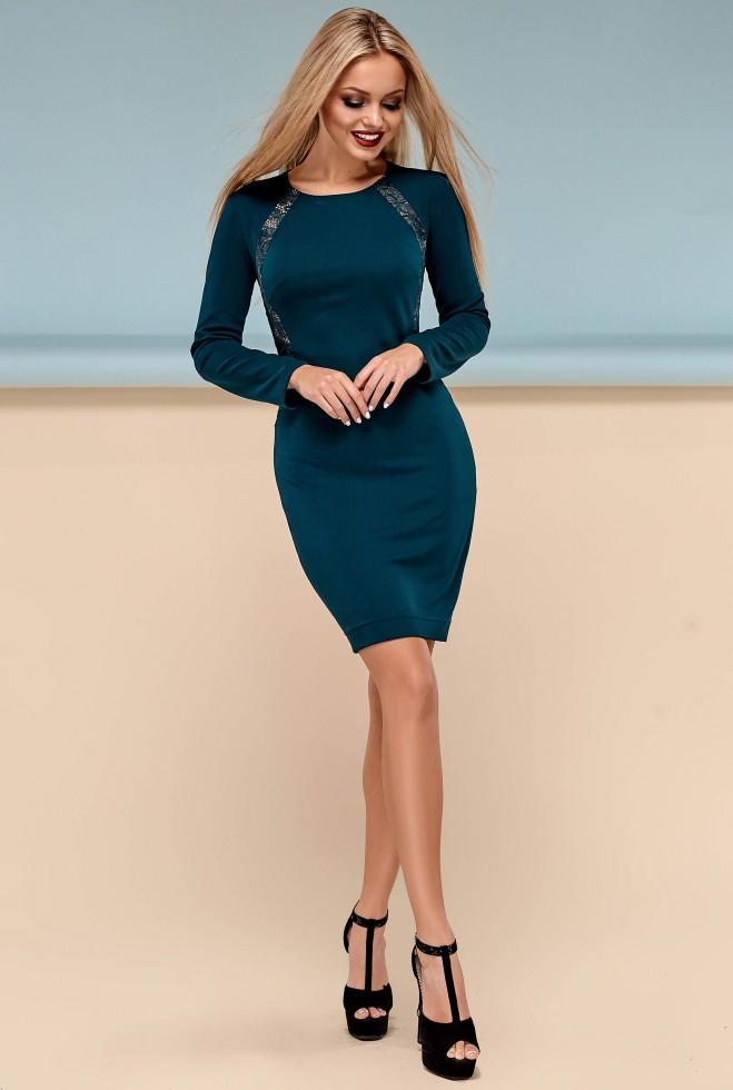 Платье Блэр Изумруд