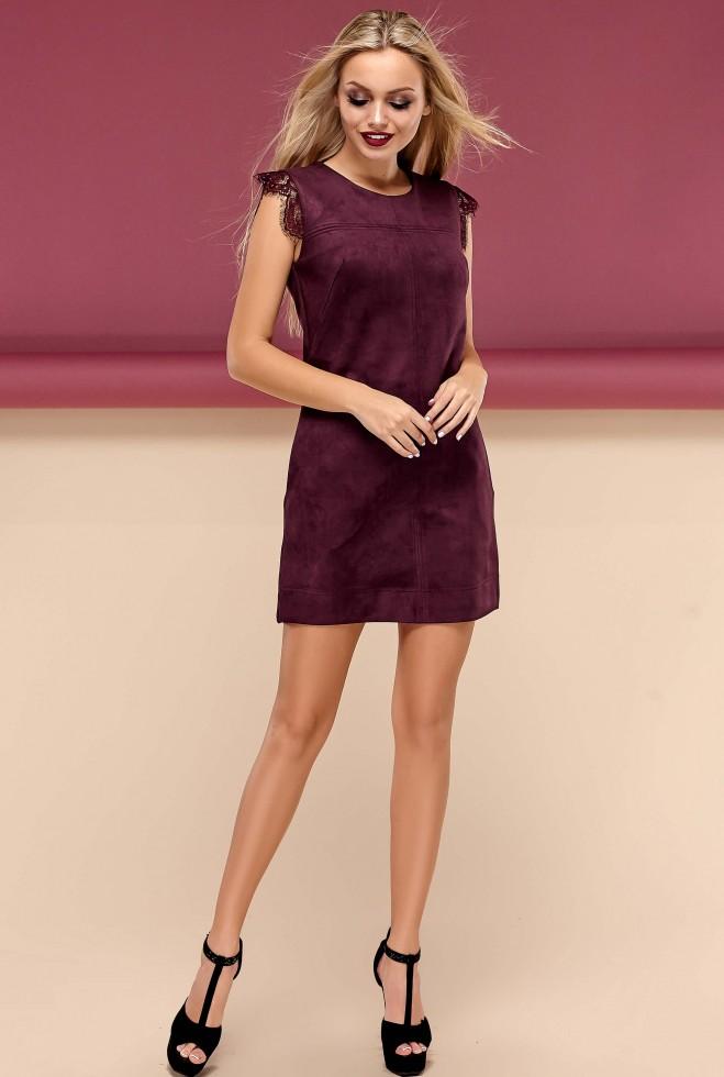 Платье Кайли марсала